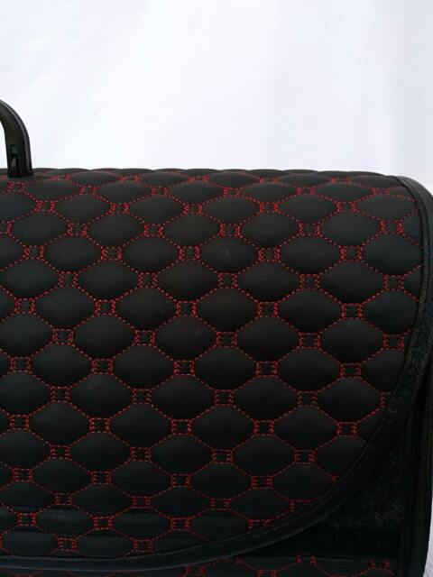 Mercedes Benz Luxury Car Fits all Models Truck High RED Leather Boot Tidy Organiser Van