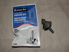 Amana Tool  49400   ROUTER BIT CARBIDE tipped 2 flute-45 1/2 1-1/4 1/4 NEW