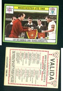 Manchester-United-1968-CALCIO-ED-PANINI-ORIGINALE-1968-69-MINT-WC