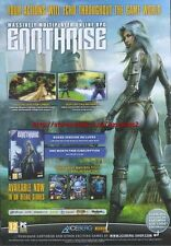 "Earthrise Massively Multiplayer Online RPG ""PC"" 2011 Magazine Advert #4399"