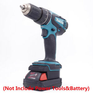 Details about Milwaukee M18 Li-ion Battery Convert to Makita 18V/20V Tools  Batteries Adapter