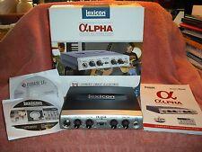 Lexicon Alpha Desktop Recording Studio Interface