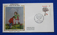 "Canada (842) 1979 International Year of the Child Colorano ""Silk"" FDC"