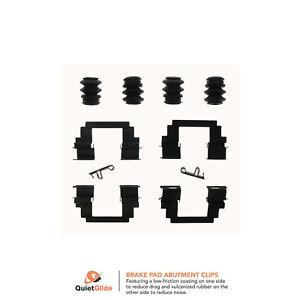 Disc-Brake-Hardware-Kit-Front-Carlson-13376Q-Lot-of-5
