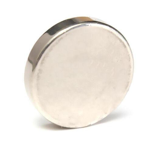 N35 Klasse Magnet Stark Neodym Seltene Erden Groß 25x5mm Scheiben Auffallend