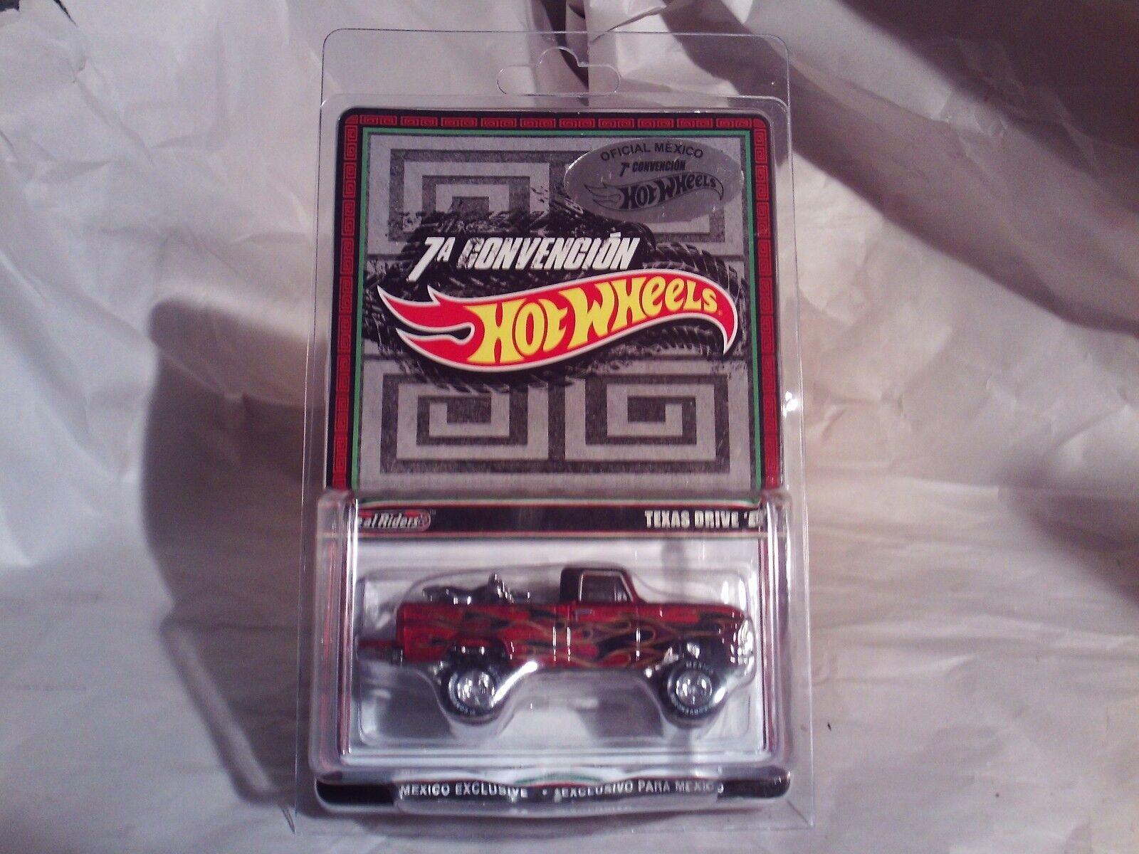 Rare Hot Wheels 2014 Mexico Convention Texas Drive 'Em In Predective Case