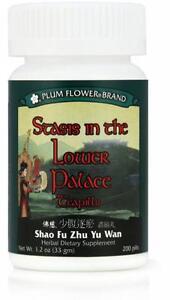 Plum-Flower-Stasis-In-The-Lower-Palace-Teapills-Shao-Fu-Zhu-Yu-Wan-200-ct