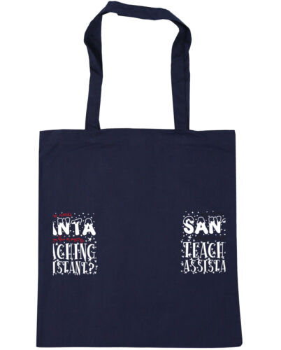 Who Needs Santa When You Have an Amazing Teaching Assistant Tote Shopping Gym Be