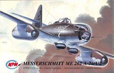 MPM 1:72 Messerschmitt Me 262 A-2a/U2 Plastic Aircraft Model Kit #72018