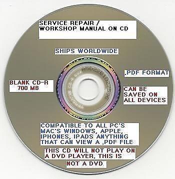Kubota L3130, L3430, L3830, L4630, L5030 Tractor Workshop Shop Repair manual CD