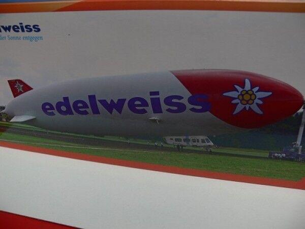 1 200 Herpa Zeppelin NT Edelweiss 557528