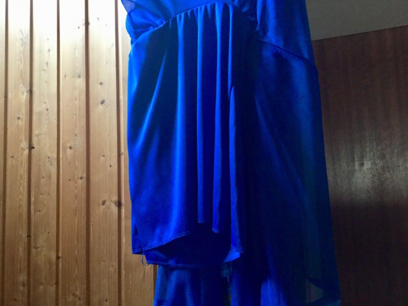 Abendkleid midi royal blau electric Blau Party Abiballkleid Abiballkleid Abiballkleid Gr.36 HIT TREND NEUw   | Authentische Garantie  | Konzentrieren Sie sich auf das Babyleben  | Elegante Form  6b0143