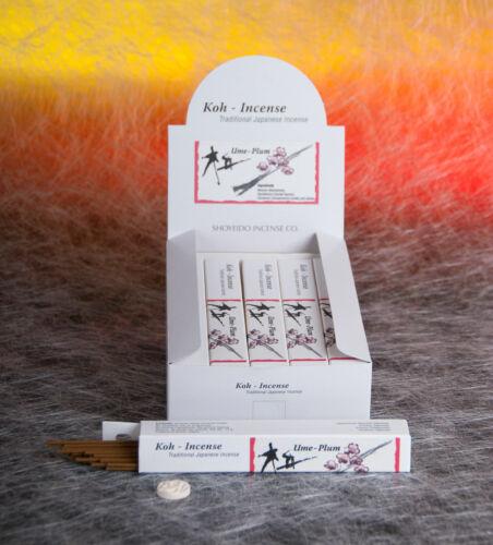 Räucherstäbchen Japan Koh Incense Daily Ume//Pflaume 140 g Berk 10 Packungen