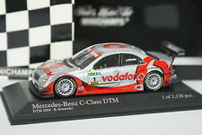 Minichamps 1/43 - Mercedes Classe C DTM 2004 Schneider
