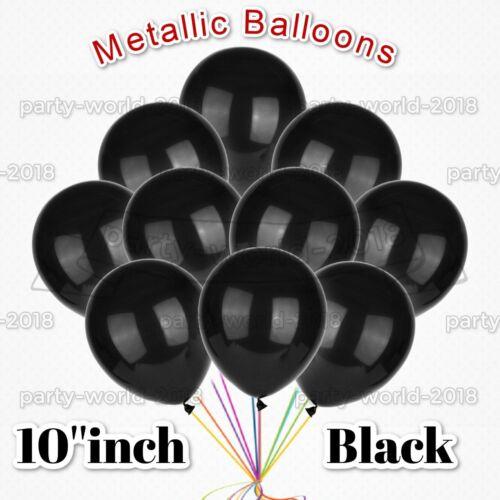 "10-50 10/"" PEARL Metallic BALLOONS BALLON helium BALOON Birthday Party Wedding UK"