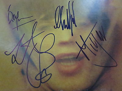 ROLLING STONES SIGNED LP BY ALL 5 RARE PROOF! KEITH RICHARDS MICK JAGGER + COA