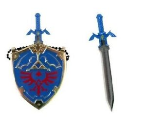 Mini Hylian Shield Links Master Sword Legend Of Zelda Necklace