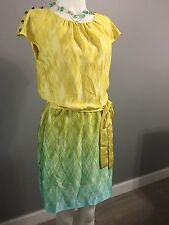 (6) GUESS LOS ANGELES  DRESS / STUNNING COLORS & DESIGN      NWOT
