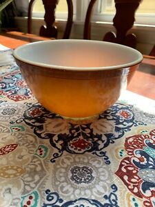Pyrex Bowl Vintage Brown Gradiant Ombre 402 1.5 Quart