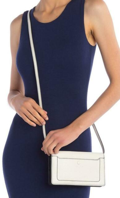 f0e364262a5 New with Tag- $260 Marc Jacobs Empire City STR White Leather Crossbody  Wallet