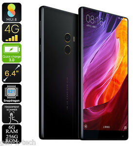 256GB XIAOMI MI MIX 4G DUAL SIM MOBILE PHONE: 6.4 INCH: 6GB RAM: 16MP CAMERA
