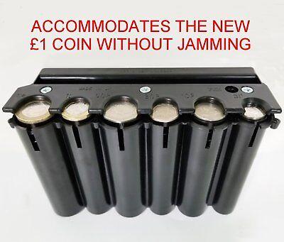 TAXI BUS BLACK HOLDER CASH DISPENSER CHANGE COIN HOLDER FITS NEW £1 COIN