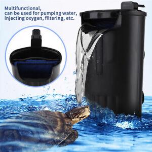 220V 5W Pompa interno per acquario acqua cascata filtro ...
