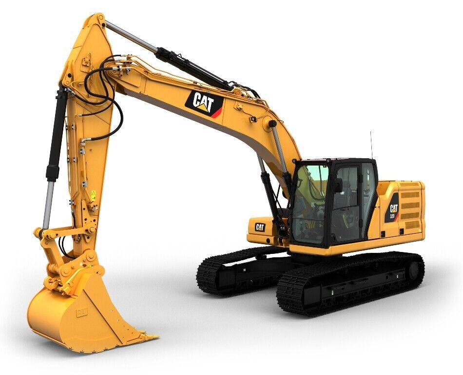 85569 CAT 320 Escavatore catene Next Generation 1 50 Diecast Master