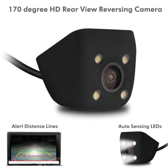 Universale 12V Retrovisore Retromarcia Giorno/Notte Auto Parcheggio Camera di 4