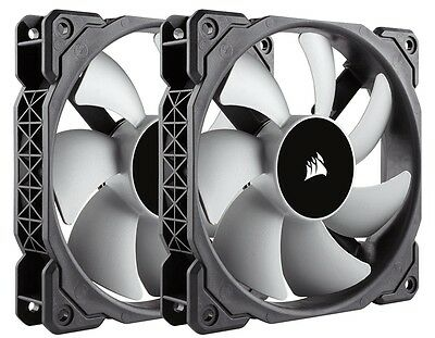 Corsair Ml120 Two Fan Twin Pack Premium Magnetic Levitation 120mm 2400rpm 4-pin The Latest Fashion Computer Components & Parts