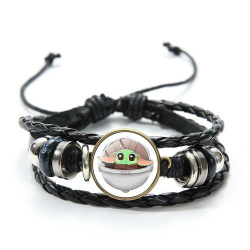 Baby Yoda the Mandalorian Star Wars Bracelet Baby Yoda Movie Jewellery Gifts