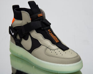 Details about Nike Air Force 1 Utility Mid Men's New Spruce Fog Black Casual Shoes AQ9758 300