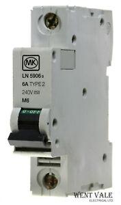 LN5906s MK Sentry 6a Type 2 Single Pole MCB