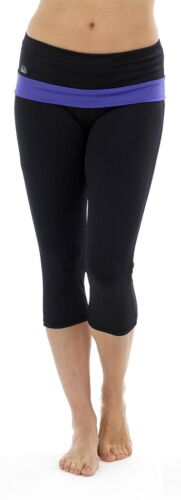 Exercise Gym OCTAVE® Ladies Fitness Cropped 3//4 Capri Yoga Pants Jogging