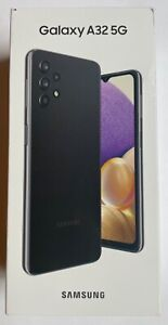 Samsung A32 5G 64GB Awesome Black T-Mobile Metro By T-Mobile A326U SM-A326U New