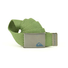 Quiksilver Men's Principle II Webbing Clamp Belt - SS17: Four Leaf Clover