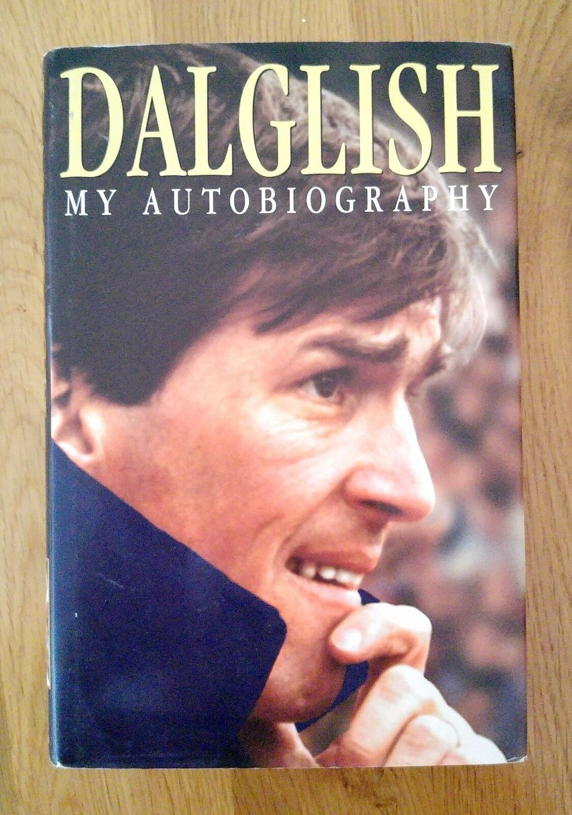 Hand Signed Autobiography  Kenny Dalglish 'My Autobiography' - Liverpool FC