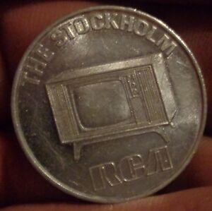Details about 1970 RCA Television Sweepstakes Advertising Token TV Model