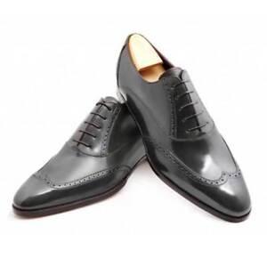 formali Wingtip uomo nere uomo uomo da Brogue abbigliamento derby Oxford da scarpe da Scarpe uomo fgqw5XFF