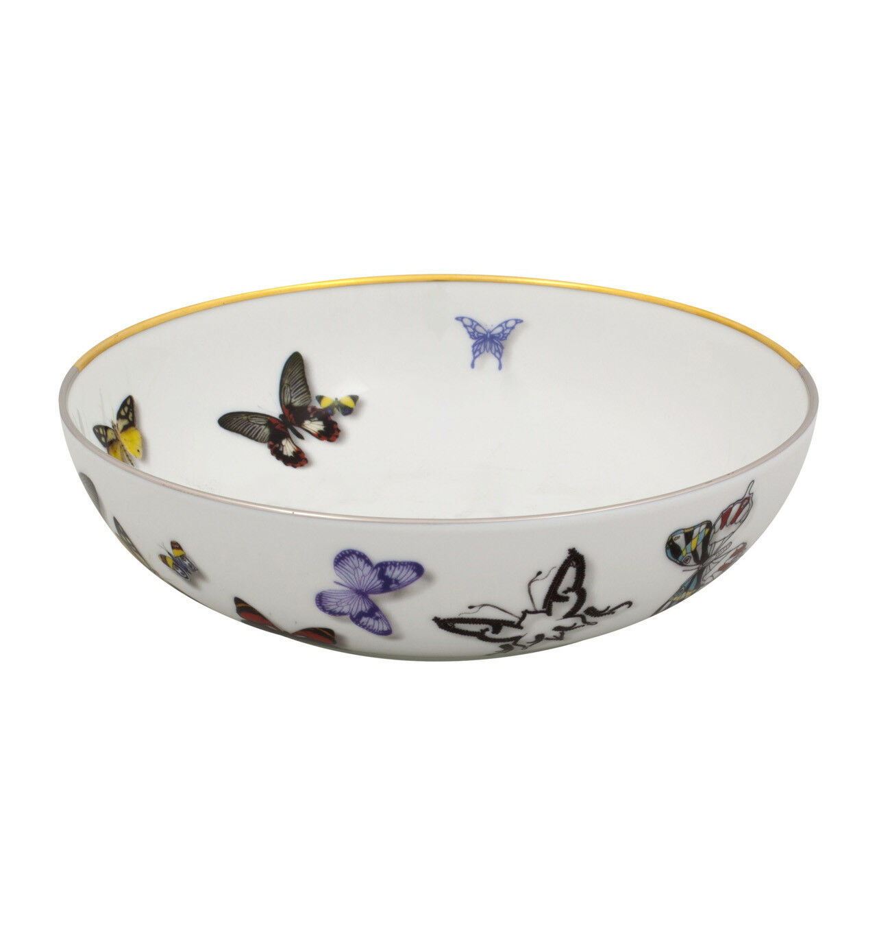 Vista Alegre Butterfly Parade Cereal Bowl - Set of 12