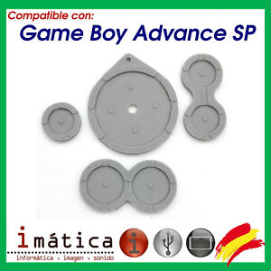 Rubber-of-Contact-for-Nintendo-Game-Boy-Advance-Sp-Spare-GBA-Sp-Buttons-Rubber