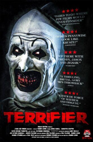 Art Terrifier Art the Clown Movie Poster 20x30 24x36 P142