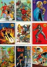 The Valiant Era : A History - Full 9 Card Unseen Art Foil Chase Set - Upper Deck