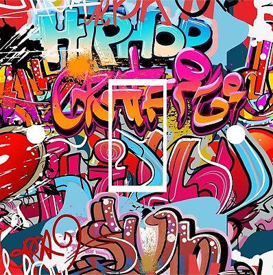 Graffiti Light Switch Sticker Vinyl Skin cover sw4