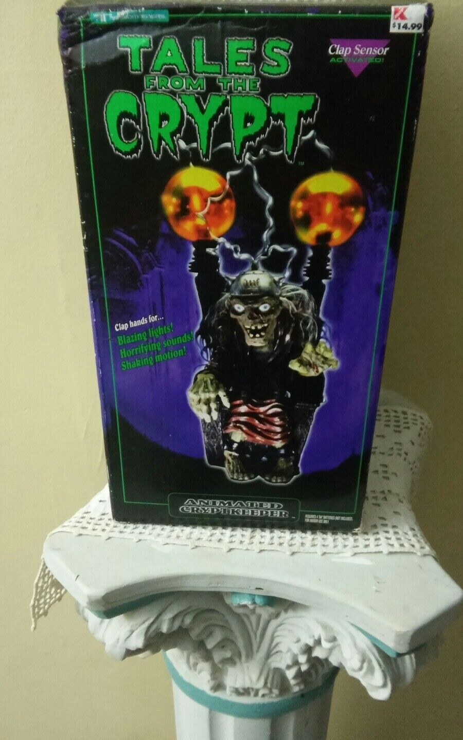 TALES FROM THE CRYPT Electric Chair Animated Crypt Crypt Crypt Keeper 1997 Trendmasters 086fcc
