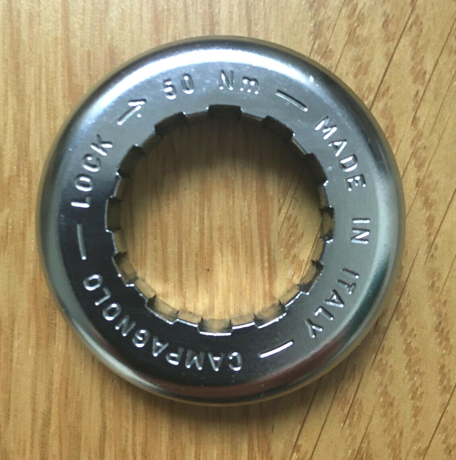 Campagnolo Lockring 9 Fach M26x1 CS-201 für Stahl Freilauf