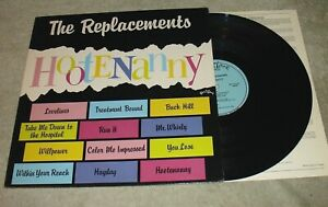 THE-REPLACEMENTS-Hootenanny-1983-Twin-Tone-MASTERDISK