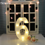 Number-Alphabet-LED-Letter-Lights-Light-Up-Metal-Standing-Hanging-Marquee-Decor thumbnail 55