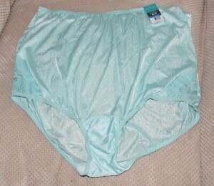 38f4eb311c3 Image is loading NIX-C-Silky-AZURE-MIST-nylon-ladies-knickers-
