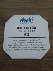 Bierdeckel Japan Asahi Beer Beercoaster